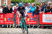 Picture by Alex Whitehead/SWpix.com - 13/05/2018 - British Cycling - HSBC UK National Women's Road Series - Lincoln Grand Prix - Anna Christian of Trek Drops in action.