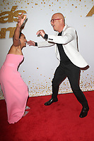 HOLLYWOOD, CA - SEPTEMBER 11:  Mel B and Howie Mandel at America&rsquo;s Got Talent Season 13 Live Show arrivals at The Dolby Theatre in Hollywood, California on September 11, 2018. <br /> CAP/MPIFS<br /> &copy;MPIFS/Capital Pictures