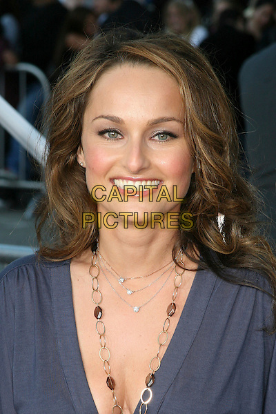 "GIADA DE LAURENTIIS.""The Break Up"" Los Angeles Premiere - Arrivals, Westwood, California, USA..May 22nd, 2006.Photo: Byron Purvis/AdMedia/Capital Pictures.Ref: BP/ADM.headshot portrait necklace.www.capitalpictures.com.sales@capitalpictures.com.© Capital Pictures."