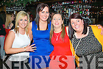 Four sisters from Scartaglen travelled to Hennessy's bar,Tralee last Monday night to ring in the new year,L-R Sarah,Trisha,Kathy&Catriona O'Connor..