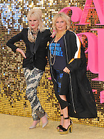 Joanna Lumley &amp; Jennifer Saunders at the &quot;Absolutely Fabulous: The Movie&quot; world film premiere, Odeon Leicester Square, Leicester Square, London, England, UK, on Wednesday 29 June 2016.<br /> CAP/CAN<br /> &copy;CAN/Capital Pictures /MediaPunch ***NORTH AND SOUTH AMERICAS ONLY***