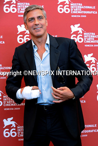 "GEORGE CLOONEY.""The Men Who Stare at Goats"" photocall at the  66th Venice Film Festival , Venice_08/09/2009.Mandatory Credit Photo: ©NEWSPIX INTERNATIONAL..**ALL FEES PAYABLE TO: ""NEWSPIX INTERNATIONAL""**..IMMEDIATE CONFIRMATION OF USAGE REQUIRED:.Newspix International, 31 Chinnery Hill, Bishop's Stortford, ENGLAND CM23 3PS.Tel:+441279 324672  ; Fax: +441279656877.Mobile:  07775681153.e-mail: info@newspixinternational.co.uk"