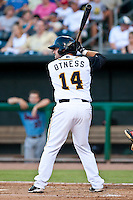 John Otness of the  Jacksonville Suns during a game vs. the Tennessee Smokies July 10 2010 at Baseball Grounds of Jacksonville in Jacksonville, Florida. Photo By Scott Jontes/Four Seam Images