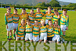 The Boherbue team who competed in the Glenflesk U10 football blitz on Saturday. .Ross O'Connor, Tristian Daly, David O'Connor, Brian Herlihy, Brian O'Keeffe, Colin O'Keeffe, Vincent Kiely, Patrick Daly, Michael Daly, Jack Daly, Oisin Healy, Sean Ahern, Christopher Flynn, CJ O'Sullivan, Mark O'Connor and Aaron O'Sullivan..   Copyright Kerry's Eye 2008