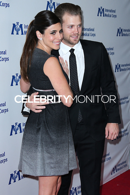 BEVERLY HILLS, CA, USA - OCTOBER 23: Jamie-Lynn Sigler, Cutter Dykstra arrive at the 2014 International Medical Corps' Annual Awards Dinner Ceremony held at the Beverly Wilshire Four Seasons Hotel on October 23, 2014 in Beverly Hills, California, United States. (Photo by Xavier Collin/Celebrity Monitor)