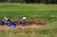 Aadil Bedi of Team India on the 5th during Round 3 of the WATC 2018 - Eisenhower Trophy at Carton House, Maynooth, Co. Kildare on Friday 7th September 2018.<br /> Picture:  Thos Caffrey / www.golffile.ie<br /> <br /> All photo usage must carry mandatory copyright credit (&copy; Golffile | Thos Caffrey)