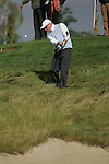 Simon Dyson chips out of the rough and onto the 8th green during the first round of the Seve Trophy at The Heritage Golf Resort, Killenard,Co.Laois, Ireland 27th September 2007 (Photo by Eoin Clarke/GOLFFILE)