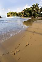 Dominikanische Republik, Strand von Las Terrenas auf der Samana-Halbinsel