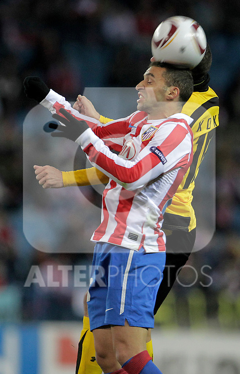 Atletico de Madrid's  Simao Sabrosa during UEFA Europe League match.December,1,2010. (ALTERPHOTOS/Acero)