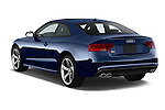 Car pictures of rear three quarter view of a 2015 Audi S5 4.2 quattro Tiptronic Premium Plus Coupe 2 Door Coupe Angular Rear