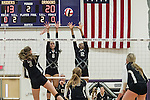 The Lady Dragons beat the Lady Raiders at Cedar Ridge Gym Tuesday in four games.  (LOURDES M SHOAF for Round Rock Leader.)