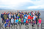 WALK: Members of Kilmoyley Hurling Club who went on a 10k walk to raise funds for the Juvenilles of Kilmoyley Hurling Club on Sunday morning at Banna Beach.
