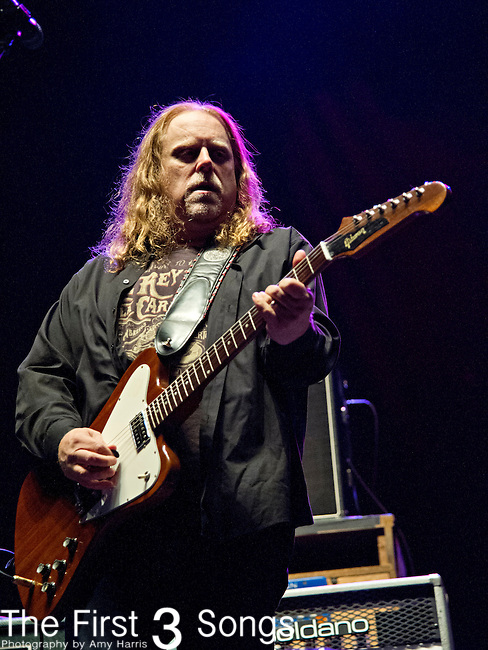 Warren Haynes of Government Mule performs during the The Beale Street Music Festival in Memphis, Tennessee.