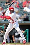 28 February 2007: St. Louis Cardinals left fielder Preston Wilson at bat during a pre-season, Grapefruit League game against the Florida Marlins on Opening Day for Spring Training at Roger Dean Stadium in Jupiter, Florida. The Cardinals and Marlins share Roger Dean Stadium and the training facilities which opened in 1998 as a co-development between the Cardinals and the Montreal Expos.<br /> <br /> Mandatory Photo Credit: Ed Wolfstein Photo