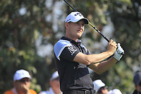 Emiliano Grillo (ARG) in action on the 4th during Round 4 of the Hero Indian Open at the DLF Golf and Country Club on Sunday 11th March 2018.<br /> Picture:  Thos Caffrey / www.golffile.ie<br /> <br /> All photo usage must carry mandatory copyright credit (&copy; Golffile | Thos Caffrey)