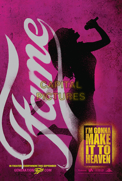PINK POSTER ART.in Fame.*Filmstill - Editorial Use Only*.CAP/FB.Supplied by Capital Pictures.