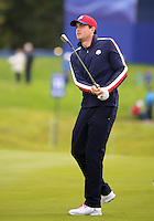23 Sept 14 American Keegan Bradley during the Tuesday Practice Round at The Ryder Cup at The Gleneagles Hotel in Perthshire, Scotland. (photo credit : kenneth e. dennis/kendennisphoto.com)