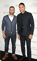 NEW YORK, NY-July 14:  Oscar Isaac, Trevor Noah, at Chivas Regal presents The Venture Grand Finale at Pier 59 West Side Highway in New York. NY July 14, 2016. Credit:RW/MediaPunch