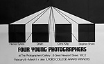 Four Young Photographers at the Photographers Gallery London, 1972.