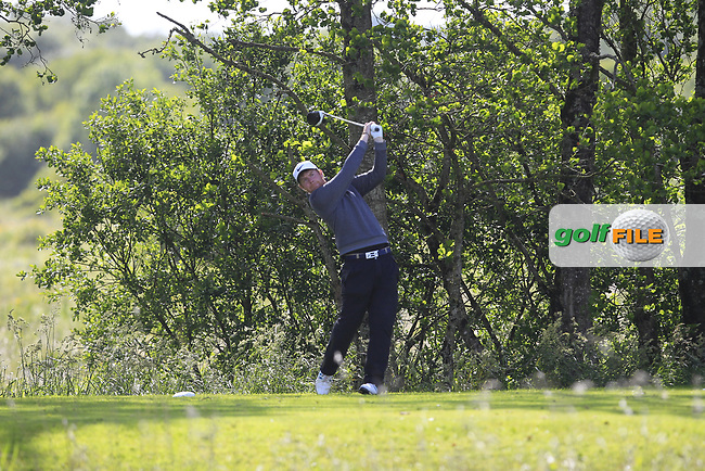 Ruairi O'Connor (Co. Sligo) on the 14th tee during Round 4 of the Connacht Stroke Play Championship at Athlone Golf Club Sunday 11th June 2017.<br /> Photo: Golffile / Thos Caffrey.<br /> <br /> All photo usage must carry mandatory copyright credit     (&copy; Golffile | Thos Caffrey)