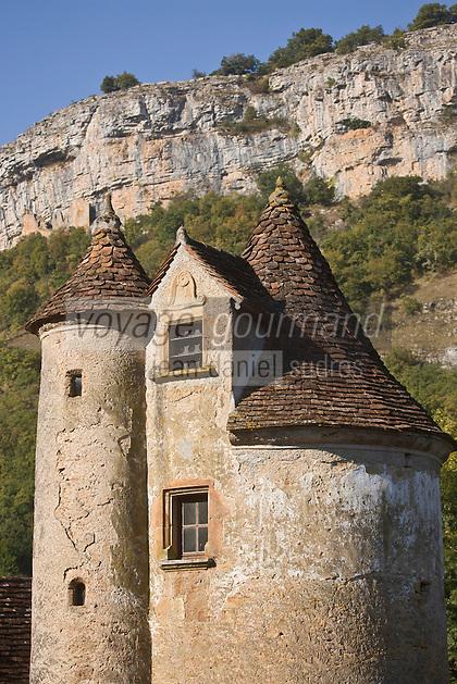 Europe/France/Midi-Pyrénées/46/Lot/Autoire: Le château de Limargue, du XV ème siècle - Les Plus Beaux Villages de France