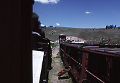 A view from the westbound C&amp;TS excursion train alongside the eastbound train while at the Osier lunch stop.<br /> C&amp;TS  Osier, CO