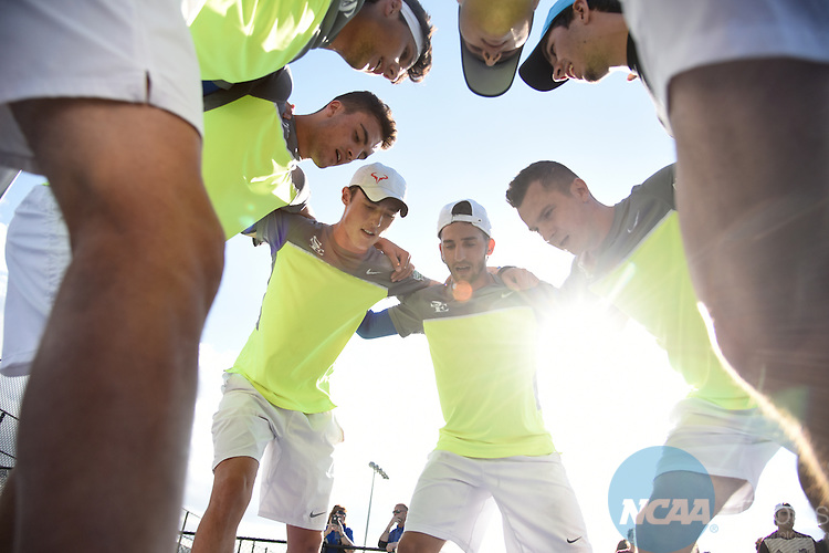 18 MAY 2016: The first rounds of Men's Tennis takes place at the Regency Athletic Comlex during the 2016 NCAA DII Sports Festival held in Denver, CO. Derek Johnson/NCAA Photos