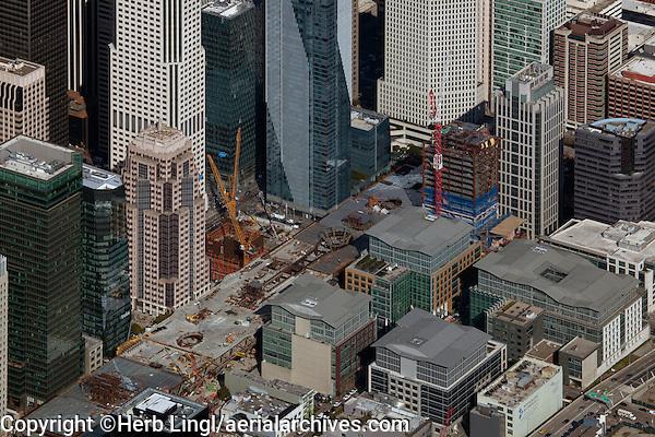 aerial photograph Transbay Transit Center San Francisco, California