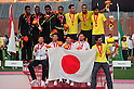 (L to R) Yusuke Ishitsuka (JPN), Kei Takase (JPN), Hideyuki Hirose (JPN), Yuzo Kanemaru (JPN),..JULY 10, 2011 - Athletics :The 19th Asian Athletics Championships Hyogo/Kobe, Men's 4x400m Relay Final at Kobe Sports Park Stadium, Hyogo ,Japan. (Photo by Jun Tsukida/AFLO SPORT) [0003]..