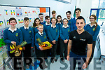 Mercy Mounthawk Launching Health Promotion week on Tuesday Pictured  speaker Sean Fynn, WK Fitness Dingle with executive student council Jake Carroll,  Darren Newsome, Kevin Clarke, Riadh Malik, Sean Hennessy, Pablo López, Paula Holmes, Izabel Keane, David Fitzgerald, Craig Murphy, Mary O'Connell, Darragh Clarke and Lauren O'Grady