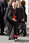 Spanish cardinal Rouco Varela attends the 11M March 11, 2004 terrorist attempt remember mass at Almudena Cathedral in Madrid, Spain. March 11, 2014. (ALTERPHOTOS/Victor Blanco)