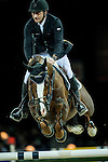 Piergiorgio Bucci of Italy rides Casallo Z in action during the Gucci Gold Cup as part of the Longines Hong Kong Masters on 14 February 2015, at the Asia World Expo, outskirts Hong Kong, China. Photo by Johanna Frank / Power Sport Images
