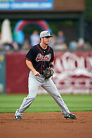 Great Lakes Loons shortstop Nick Dean (5) during a game against the Kane County Cougars on August 13, 2015 at Fifth Third Bank Ballpark in Geneva, Illinois.  Great Lakes defeated Kane County 7-3.  (Mike Janes/Four Seam Images)