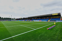 General view of the ground ahead of AFC Wimbledon vs Rochdale, Sky Bet EFL League 1 Football at the Cherry Red Records Stadium on 5th October 2019