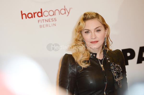 "Madonna attending the ""Hard Candy Fitness"" event in Berlin, Germany, 17.10.2013. <br /> Photo by Janne Tervonen/insight media <br /> Photo by Janne Tervonen/insight media /MediaPunch Inc. ***FOR USA ONLY***"