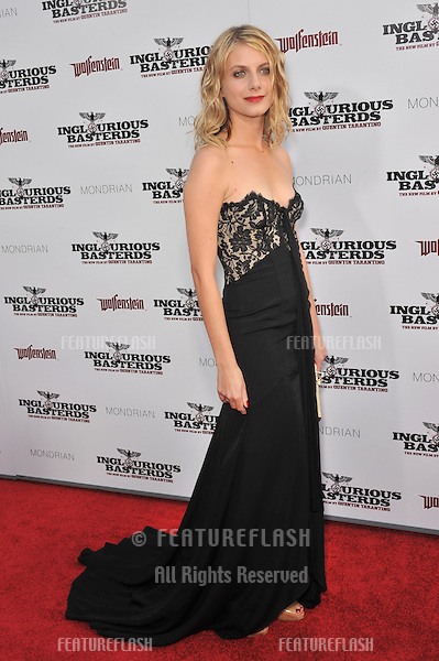 """Melanie Laurent at the Los Angeles premiere of her new movie """"Inglourious Basterds"""" at the Grauman's Chinese Theatre, Hollywood..August 10, 2009  Los Angeles, CA.Picture: Paul Smith / Featureflash"""