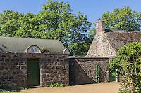 Royaume-Uni, îles Anglo-Normandes, île de Sark (Sercq) : la prison // United Kingdom, Channel Islands, Sark Island (Sercq): Prison