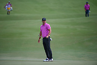 Brooks Koepka (USA) watches his putt on 2 during round 4 of The Players Championship, TPC Sawgrass, at Ponte Vedra, Florida, USA. 5/13/2018.<br /> Picture: Golffile | Ken Murray<br /> <br /> <br /> All photo usage must carry mandatory copyright credit (&copy; Golffile | Ken Murray)