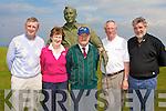 ST VINCENT de PAUL: Organizers of the St Vincent de Paul Annual Golf Classic fundraiser at Tralee Golf Club on Saturday l-r: Patrick McElligott (Tralee Rotary Club), Kit Ryan (St Vincent de Paul), Christy Lynch (St Vincent de Paul), Eugene O'Callaghan (Tralee Golf Club) and Kieran Field.