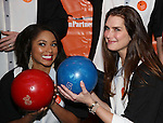 Alicia Quarles and Brooke Shields attend the 30th Annual Second Stage All-Star Bowling Classic at Lucky Strike on January 30, 2017 in New York City.