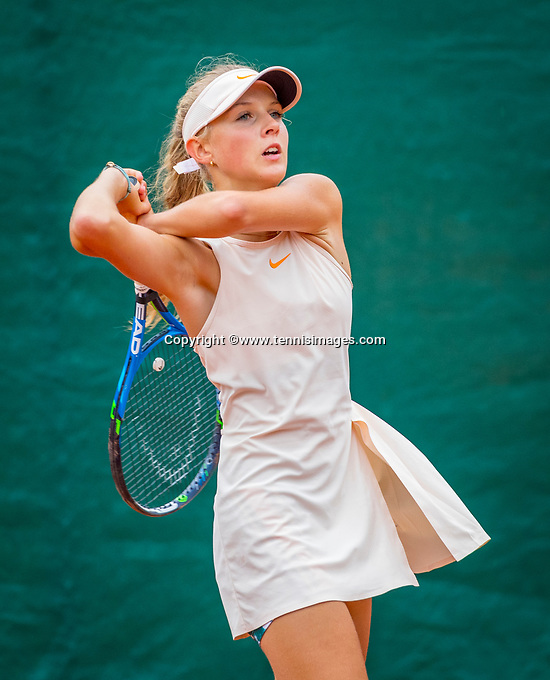 Almere, The Netherlands, September 12, 2018,  National Tennis Center, Joelle Lilly Sophie Steur (NED)<br /> Photo: Tennisimages/Henk Koster