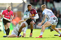 Nathan Earle of Harlequins in possession. Gallagher Premiership match, between Harlequins and Gloucester Rugby on March 10, 2019 at the Twickenham Stoop in London, England. Photo by: Patrick Khachfe / JMP