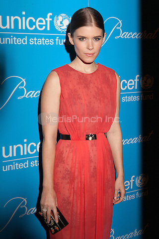 NEW YORK, NY - NOVEMBER 27:  Kate Mara  attends the Unicef SnowFlake Ball at Cipriani 42nd Street on November 27, 2012 in New York City. © Diego Corredor/MediaPunch Inc. ..