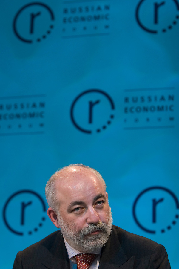 London, England, 11/04/2005..The annual Russian Economic Forum, the largest event of its kind in the world..Viktor Vekselberg, Executive Director/Gas Development, TNK-BP.