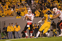 08 November 2007: Louisville quarterback Brian Brohm (12)..The West Virginia Mountaineers defeated the Louisville Cardinals 38-31 on November 08, 2007 at Mountaineer Field, Morgantown, West Virginia. .