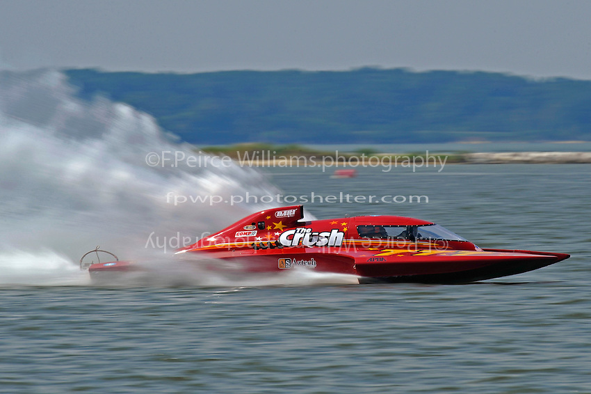"Mike Monohan, GP-777 ""The Crush"" (Grand Prix Hydroplane(s)"