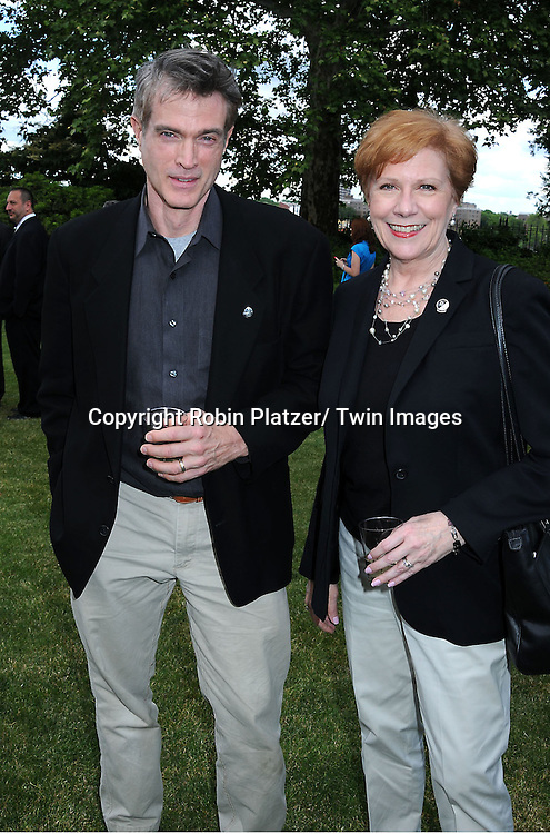 "Ed Fry and Roberta Reardon at the ""Made in NY"" Awards on June 7, 2010 at Gracie Mansion in New York City."