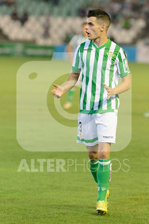 Alez during the match between Real Betis and Recreativo de Huelva day 10 of the spanish Adelante League 2014-2015 014-2015 played at the Benito Villamarin stadium of Seville. (PHOTO: CARLOS BOUZA / BOUZA PRESS / ALTER PHOTOS)