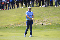 Marc Warren (SCO) on the 1st fairway during Round 3 of the Open de Espana 2018 at Centro Nacional de Golf on Saturday 14th April 2018.<br /> Picture:  Thos Caffrey / www.golffile.ie<br /> <br /> All photo usage must carry mandatory copyright credit (&copy; Golffile | Thos Caffrey)