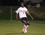 1 November 2006: Maryland's Maurice Edu. Maryland defeated Boston College 1-0 in double overtime at the Maryland Soccerplex in Germantown, Maryland in an Atlantic Coast Conference college soccer tournament quarterfinal game.